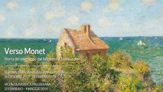 VERSO MONET. Storia del paesaggio dal Seicento al Novecento