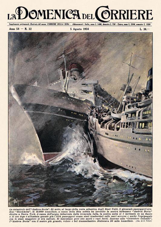Camposampiero: Andrea Doria, la verità sul naufragio