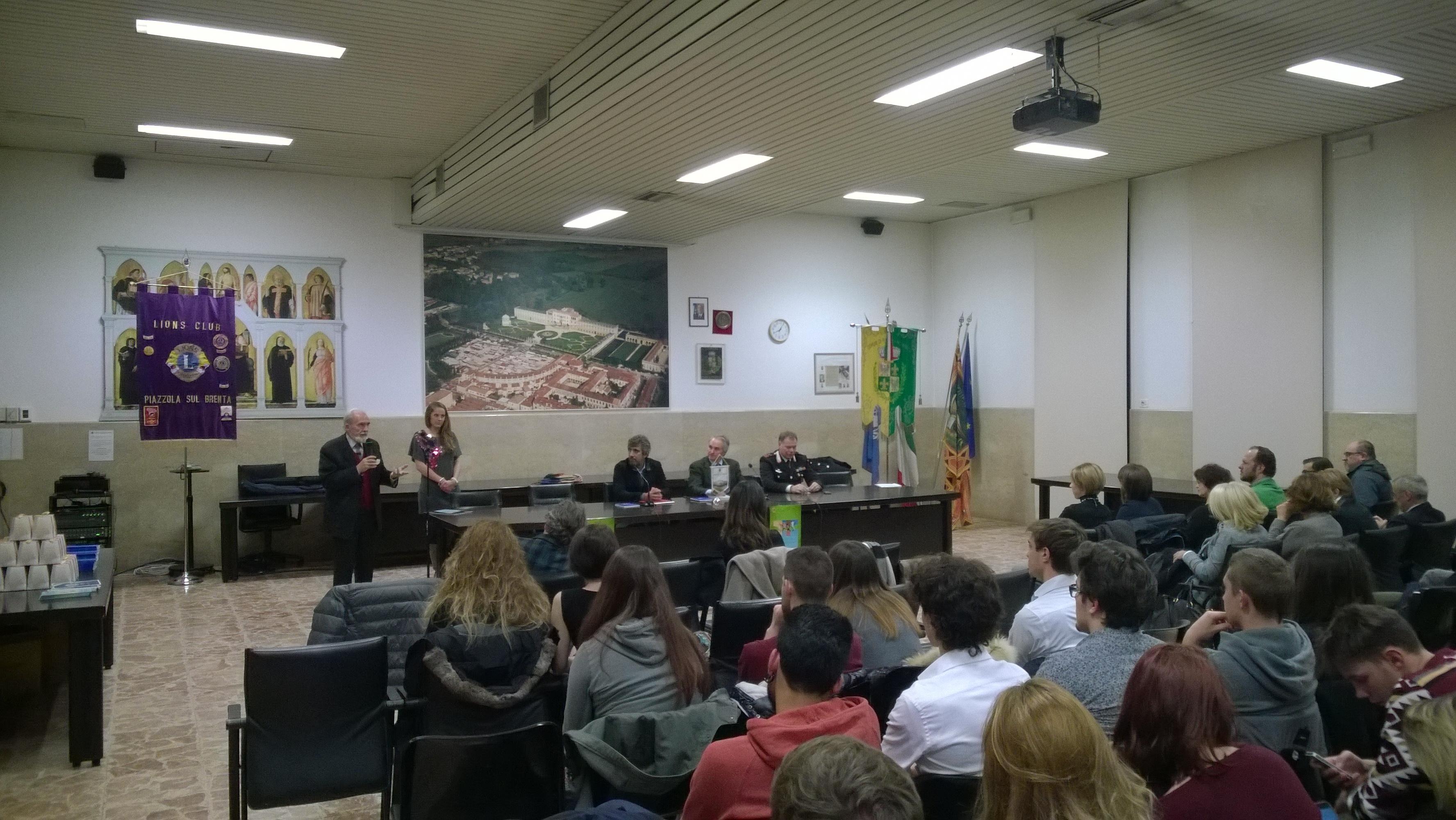 Piazzola, debutto con la Costituzione