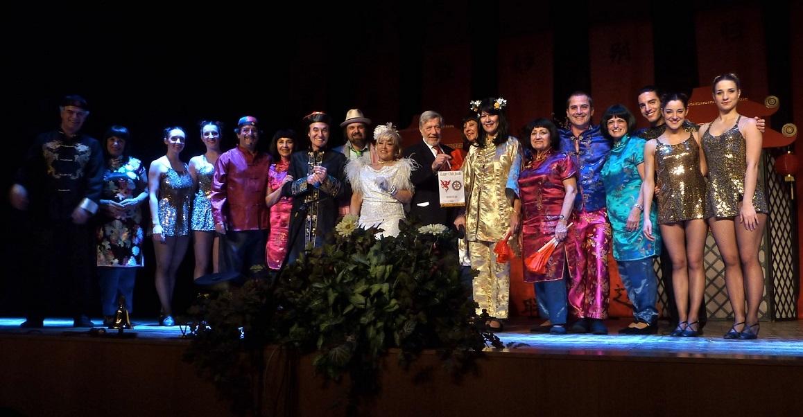 """Rotary Club Jesolo promuove service per il microcredito con la Compagnia dei """"I Lions a Teatro"""""""