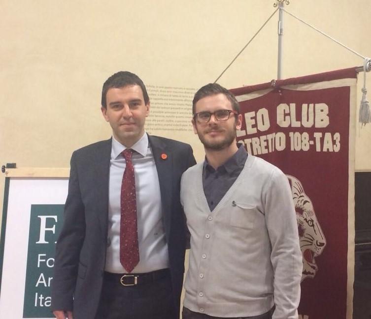 Un Party Culturale a sodalizio tra il Fai Giovani di Padova e il Distretto Leo Ta3