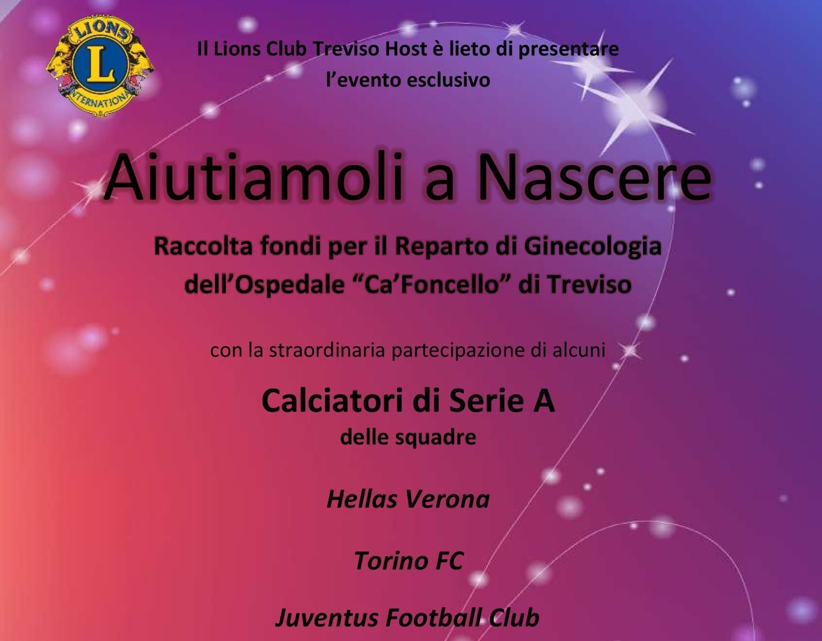 Calcio per beneficenza, Treviso Host e Leo sfidano la serie A