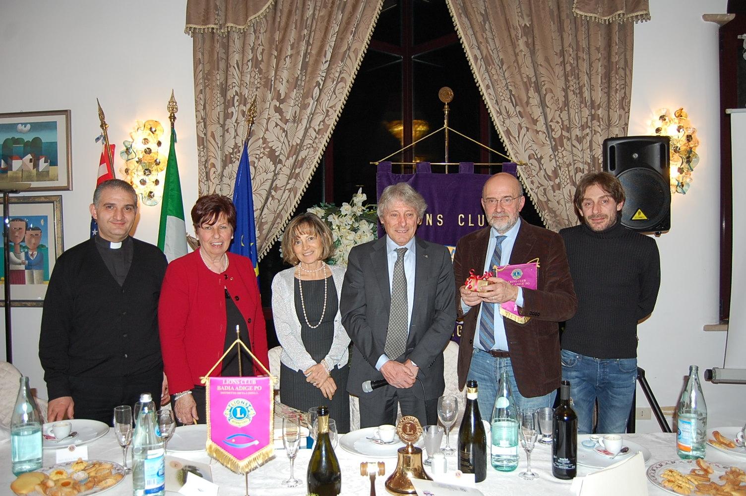 BADIA ADIGE PO: incontro con Luigi Gallimberti
