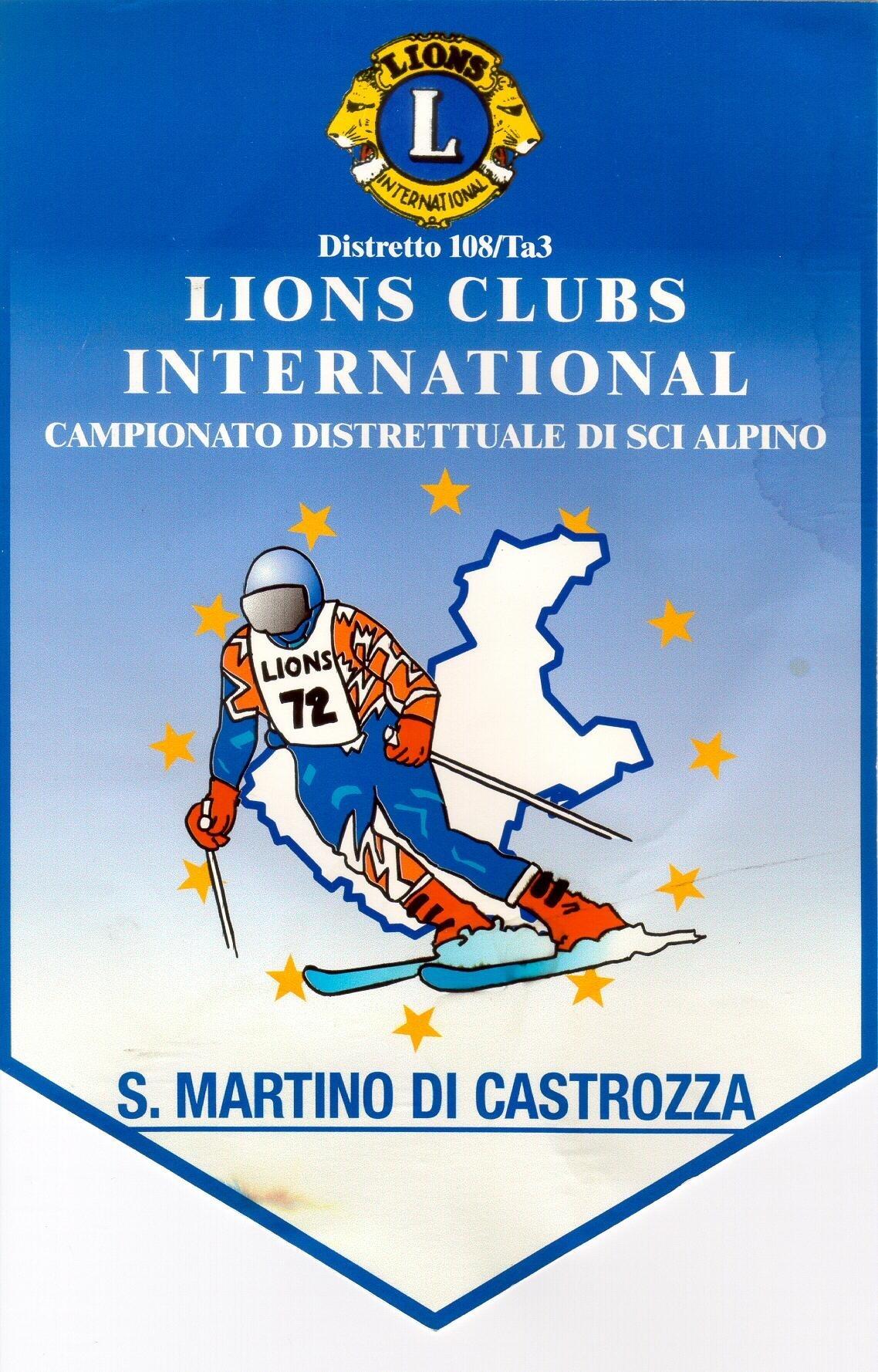 COMITATO DISTRETTUALE SCI: 18° Trofeo LIONS e 15° Trofeo LEO di Slalom Gigante