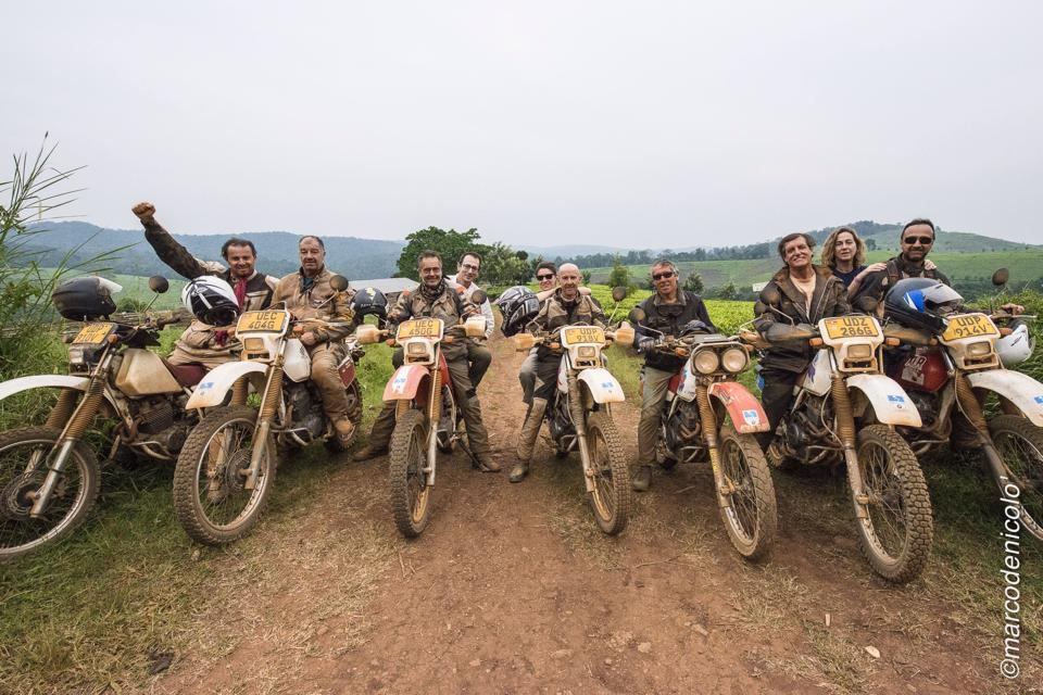UGANDA MOTORAID 2014 Pro BIKE FOR AFRICA