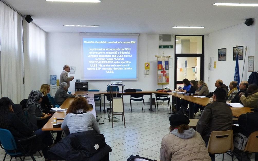 """PADOVA JAPPELLI: incontro con gli immigrati nell'ambito del progetto """"A Padova, i nuovi italiani"""""""
