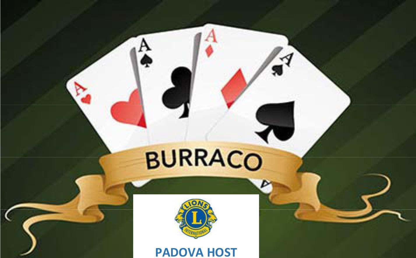 PADOVA HOST: 2° Torneo di Burraco