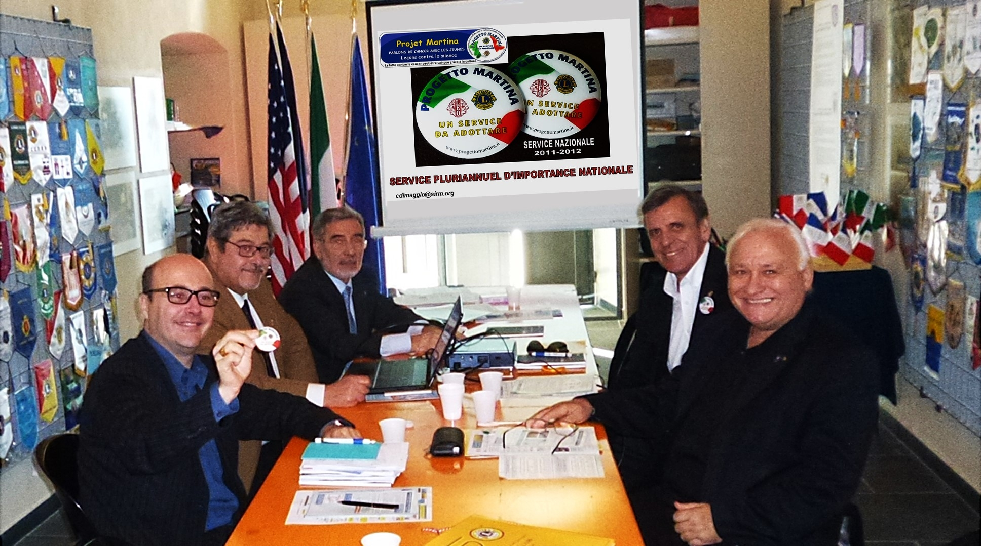 IL PROGETTO MARTINA presentato a Ventimiglia al Multidistretto 103 FRANCE