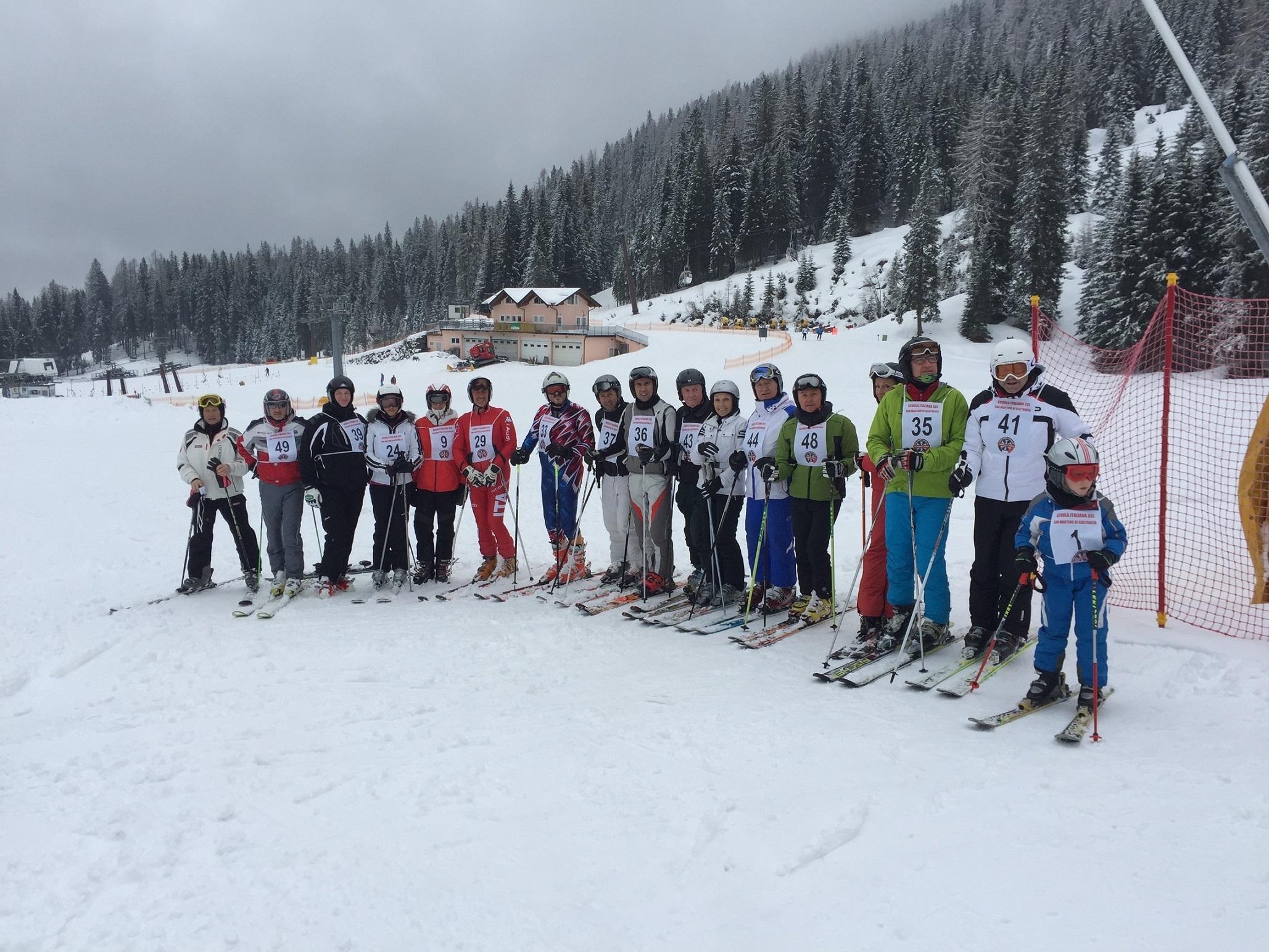 DISTRETTO 108 TA3: XVIII° Campionato distrettuale Lions, Slalom Gigante