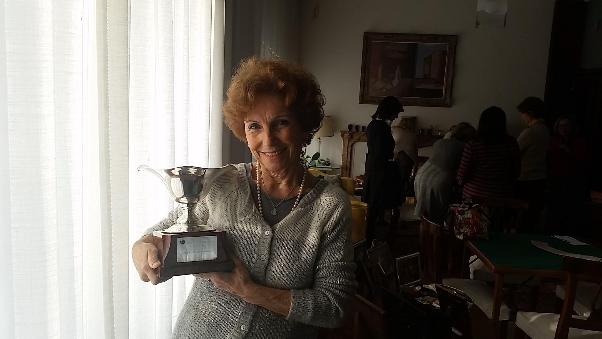 ELENA CORNARO PISCOPIA: coppa del Governatore