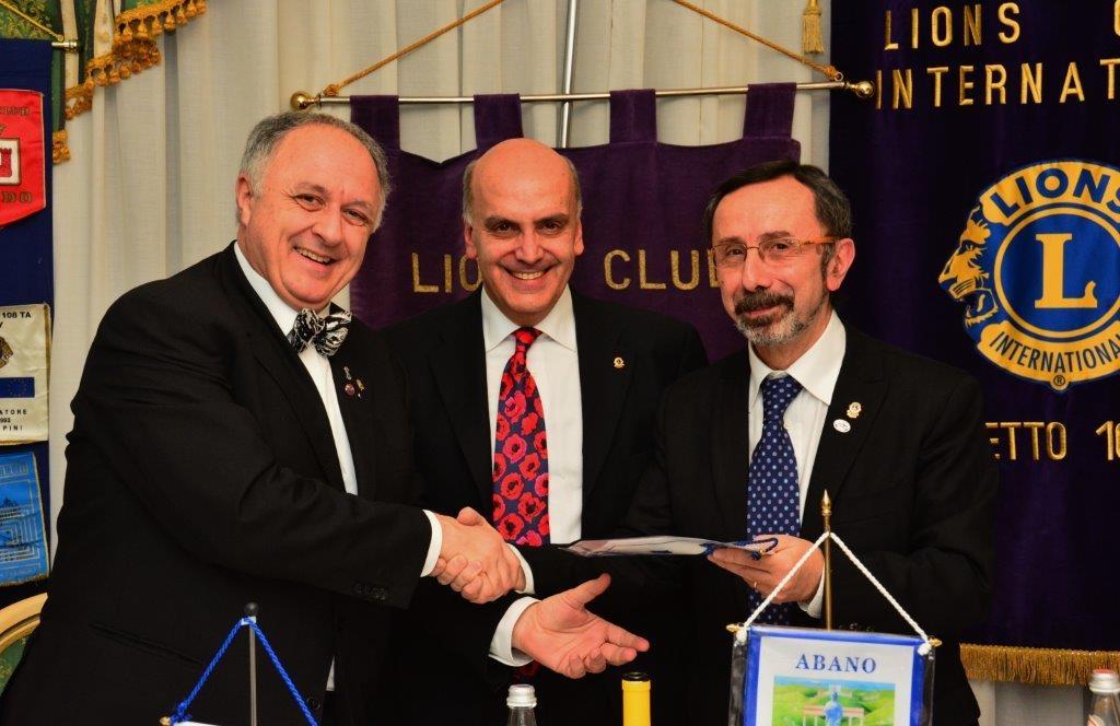 ABANO TERME EUGANEE: incontro con il Direttore Internazionale FRESIA e il Governatore MARSULLO