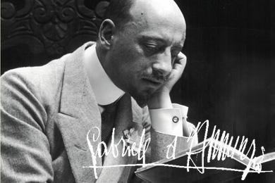 GASPARA STAMPA e CARRARESI: Gabriele D'Annunzio e la prima guerra mondiale