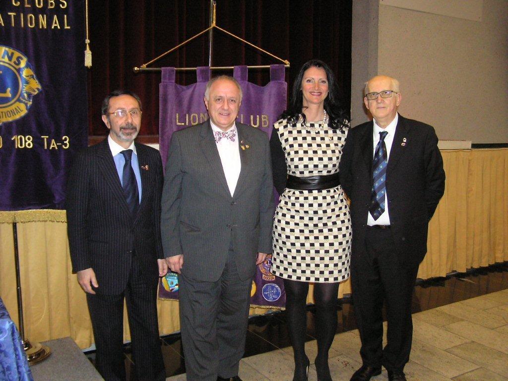 IL DIRETTORE INTERNAZIONALE ROBERTO FRESIA incontra i Soci della 3° e 4° Circoscrizione