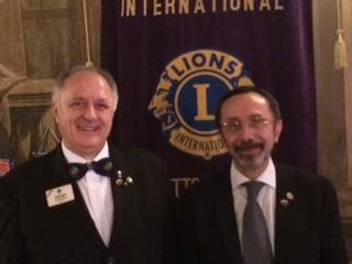 Il Direttore Internazionale Fresia incontra i soci Lions del Ta3