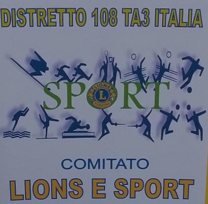DISTRETTO 108 TA3: Comitato Distrettuale Sport Lions e Leo