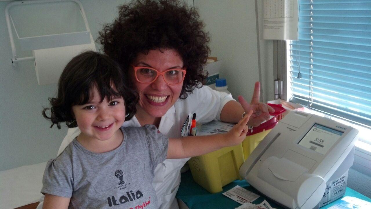 BADIA ADIGE PO: donazione di una macchina per il controllo diabetico nei giovani