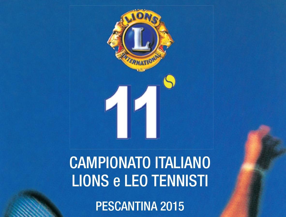 Campionati nazionali Tennis Lions 2015