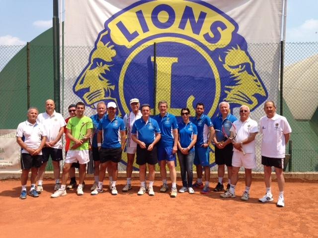 11° CAMPIONATO ITALIANO TENNIS, LIONS E LEO
