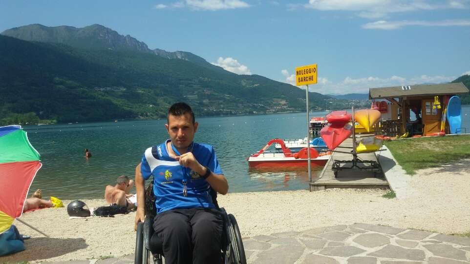 Matteo Zerbetto vincitore al Lago di Caldonazzo