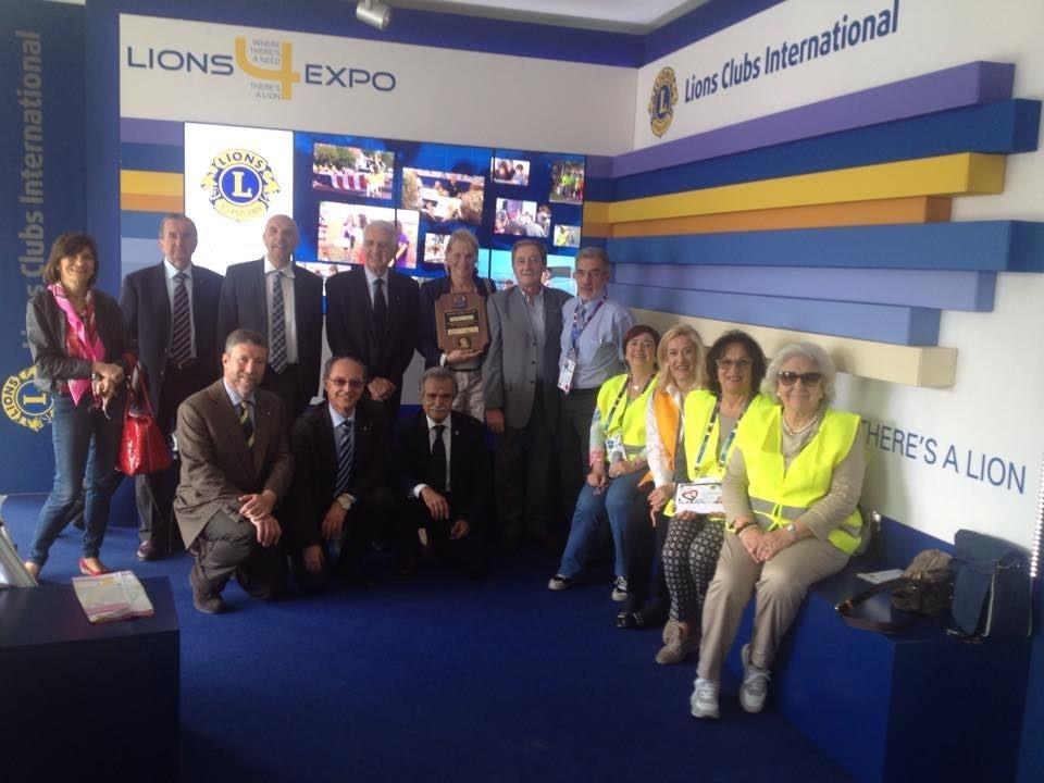 EXPO E LIONS: il 108Ta3 al lavoro a Cascina Triulzia