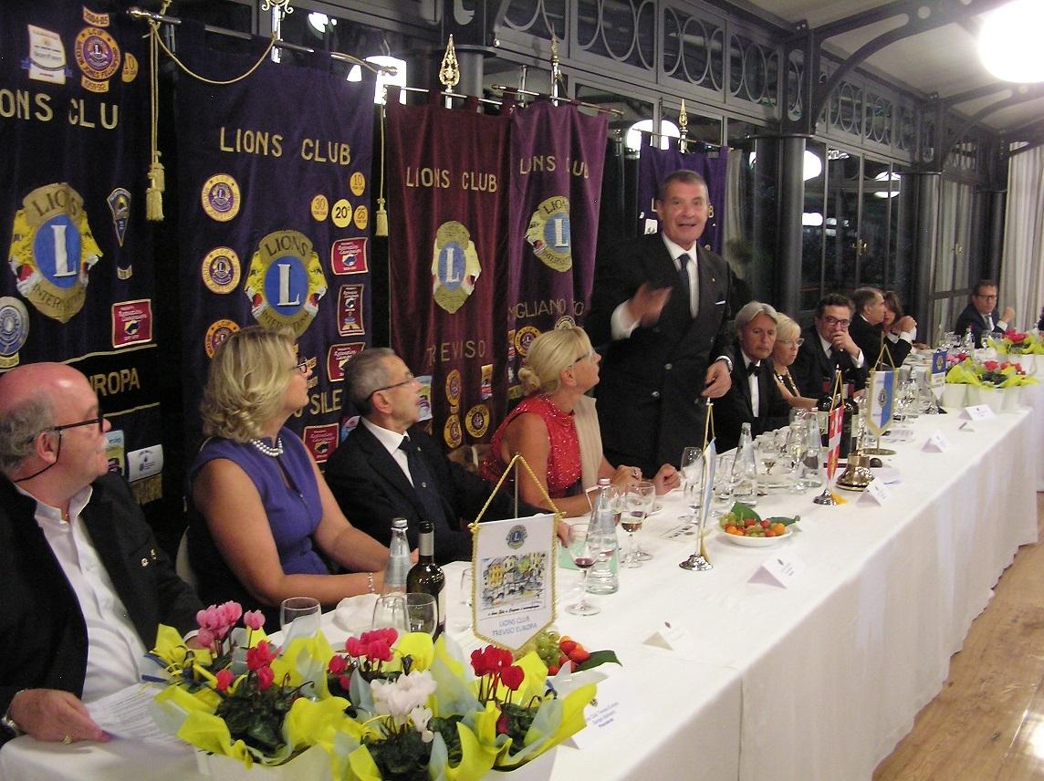 I Club Lions di Treviso e Mogliano: progetti comuni