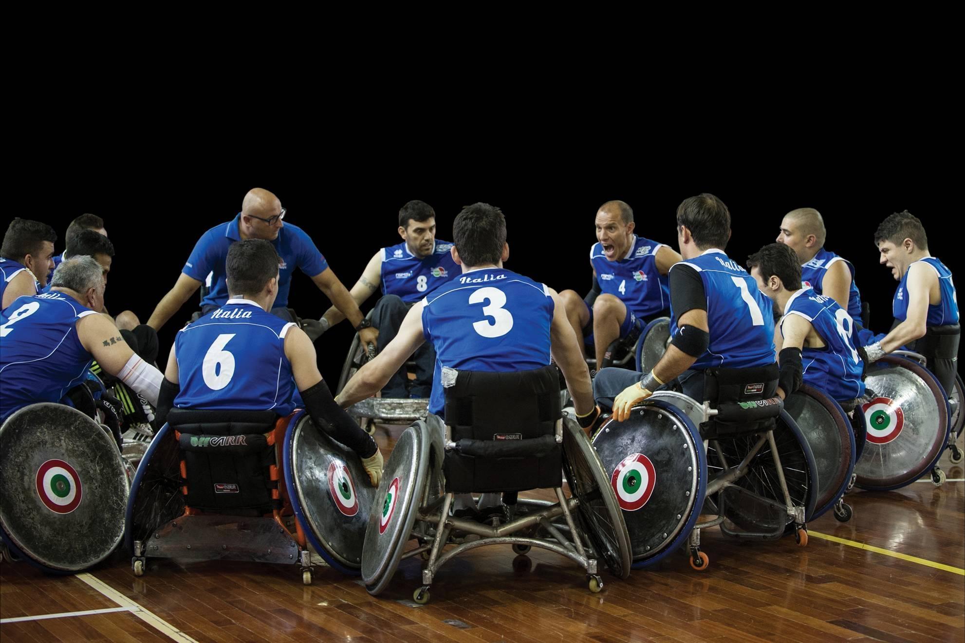 """DISTRETTO 108 TA3: Comitato Sport, """"Quelli del Rugby con le ruote"""""""