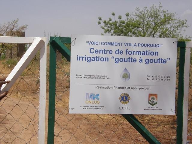 DISTRETTO 108 TA3: Centro di Formazione per l'irrigazione goccia a goccia