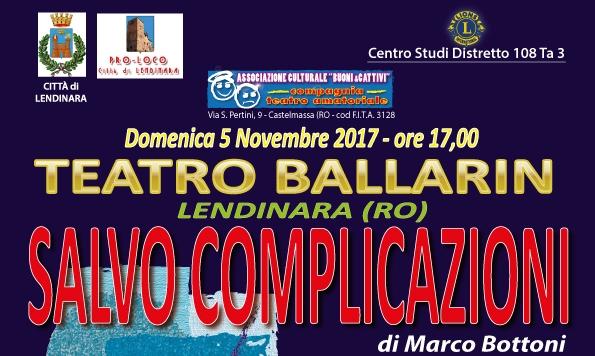 """DISTRETTO 108 TA3: Centro Studi, """"SALVO COMPLICAZIONI"""""""