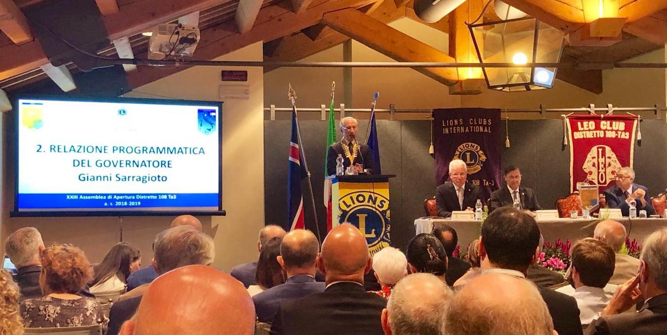 Domenica 16 settembre 2018 ASSEMBLEA DI APERTURA DELL'ANNO SOCIALE 2018-2019
