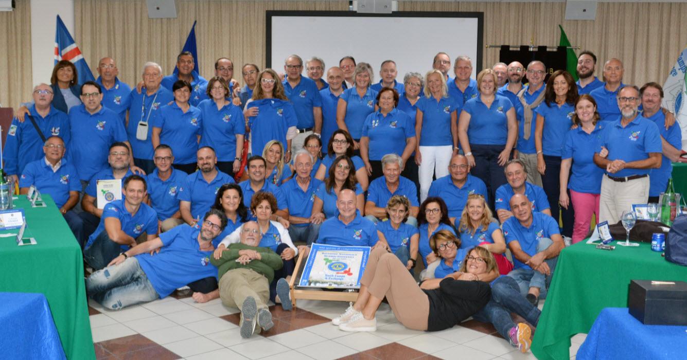28/30 settembre 2018 – Resoconto della Riunione Nazionale in preparazione degli Scambi Giovanili per l'anno Lionistico in corso