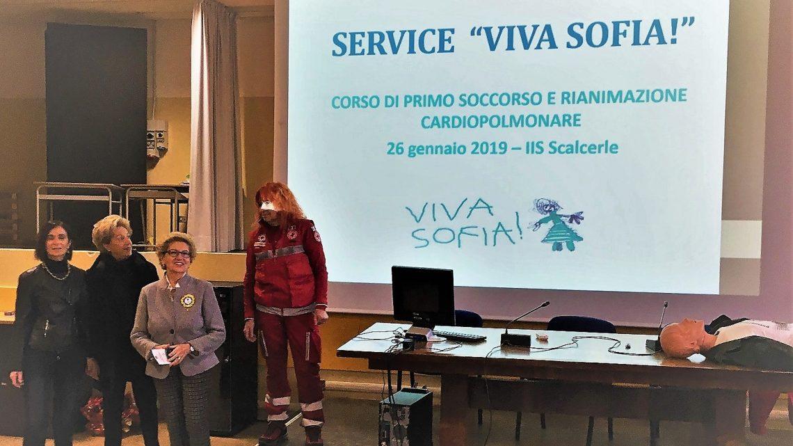 """SERVICE """"VIVA SOFIA!"""": CORSO DI PRIMO SOCCORSO E RIANIMAZIONE CARDIOPOLMONARE"""