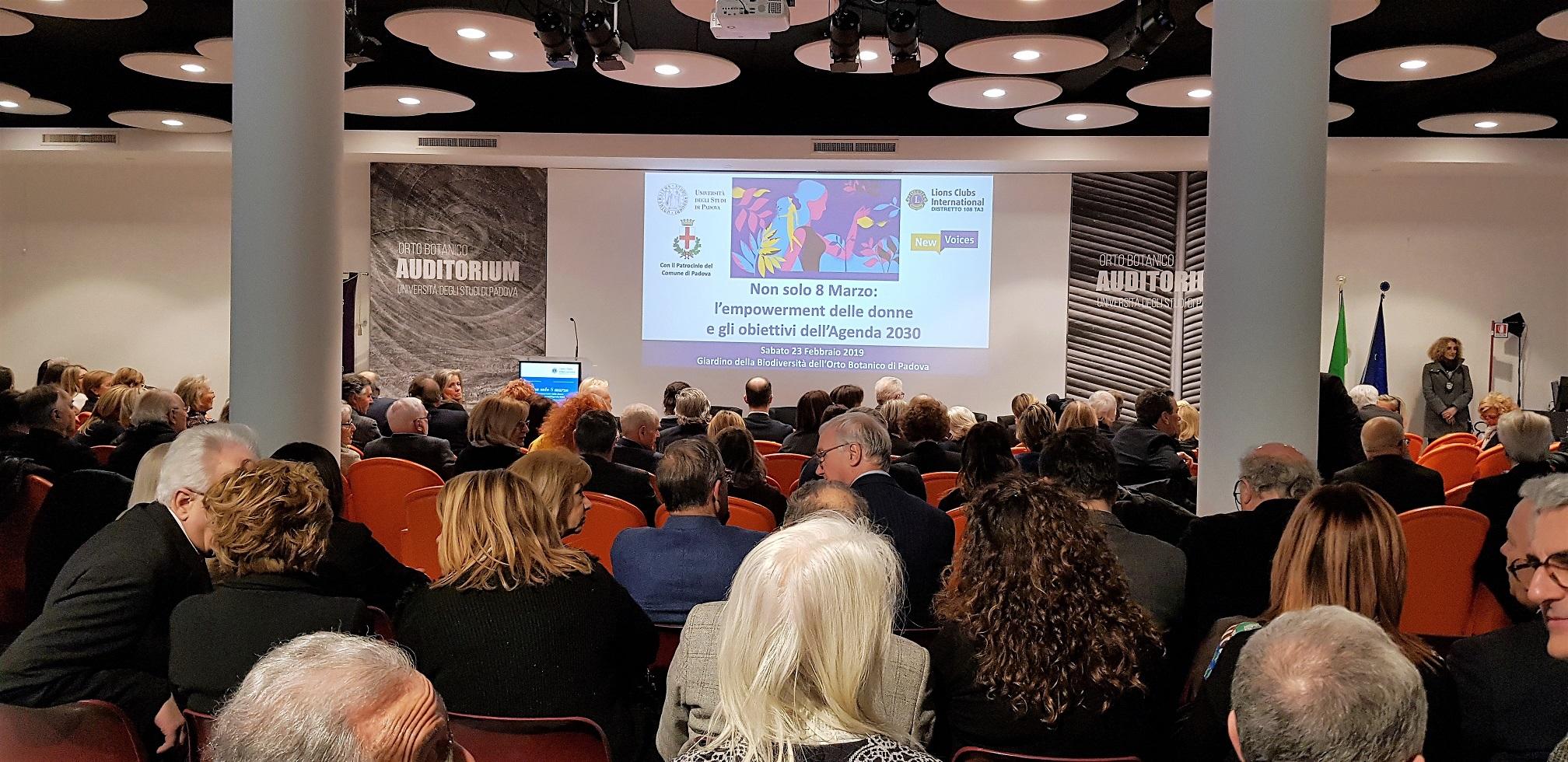 23 febbraio 2019 – Seconda Assemblea Intermedia – Orto botanico Università di Padova