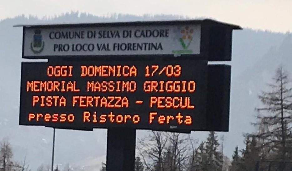 17 marzo 2019 – Tutto sul Trofeo di Sci Massimo Griggio – Fertazza di Pescul