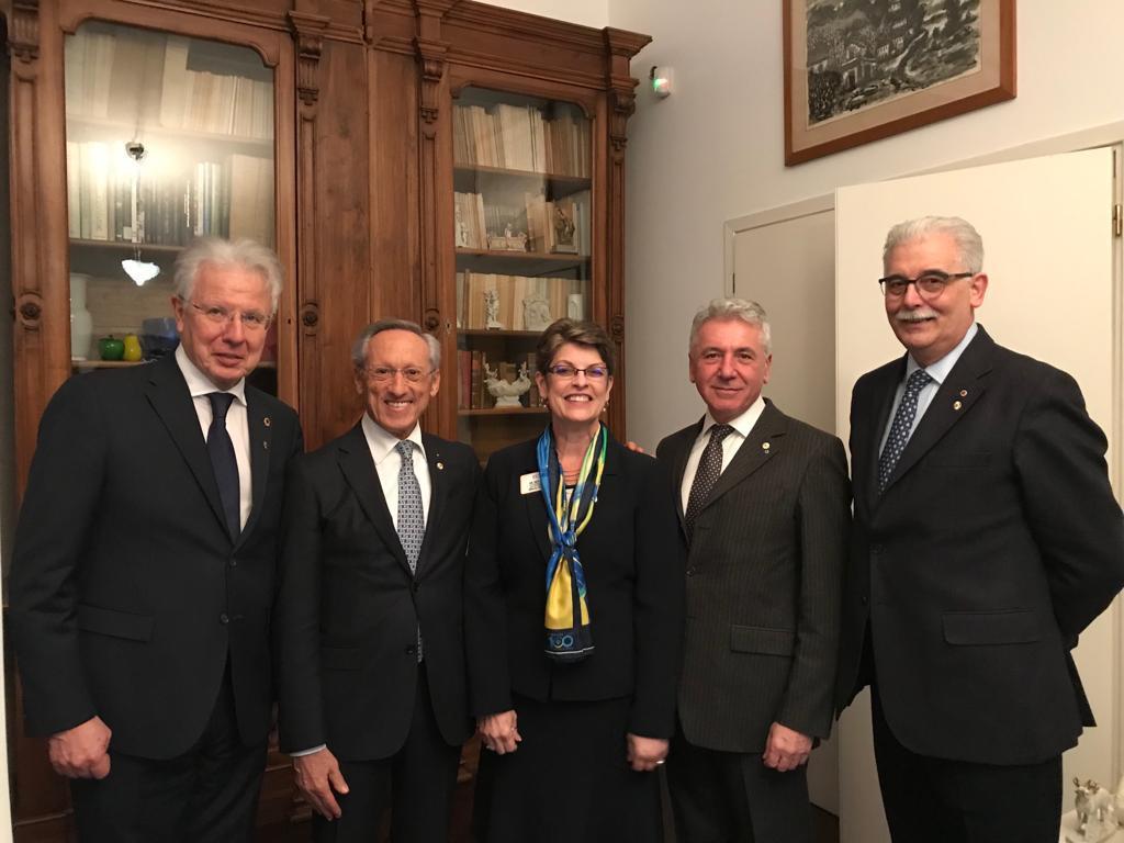 Incontro con PATTI HILL candidata alla carica di 3° Vicepresidente Internazionale alla Convention 2019 di Milano