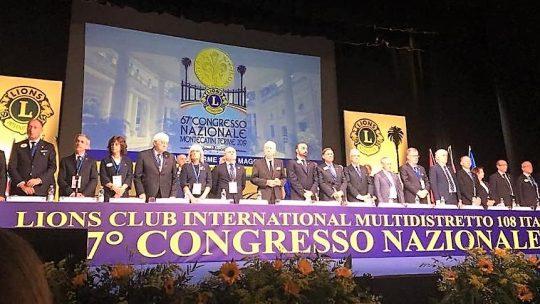 I LIONS ITALIANI RIUNITI AL 67° CONGRESSO NAZIONALE MONTECATINI TERME