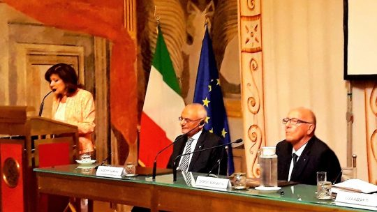 15 luglio 2019 – Giorgio Soffiantini presenta il suo libro sull'Alzheimer al Senato