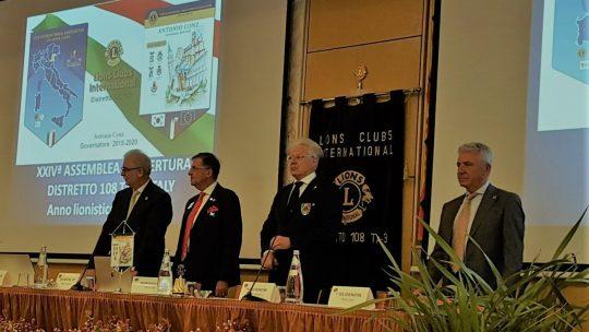 15 settembre 2019 – Assemblea Apertura – Discorso Programmatico del Governatore Antonio Conz