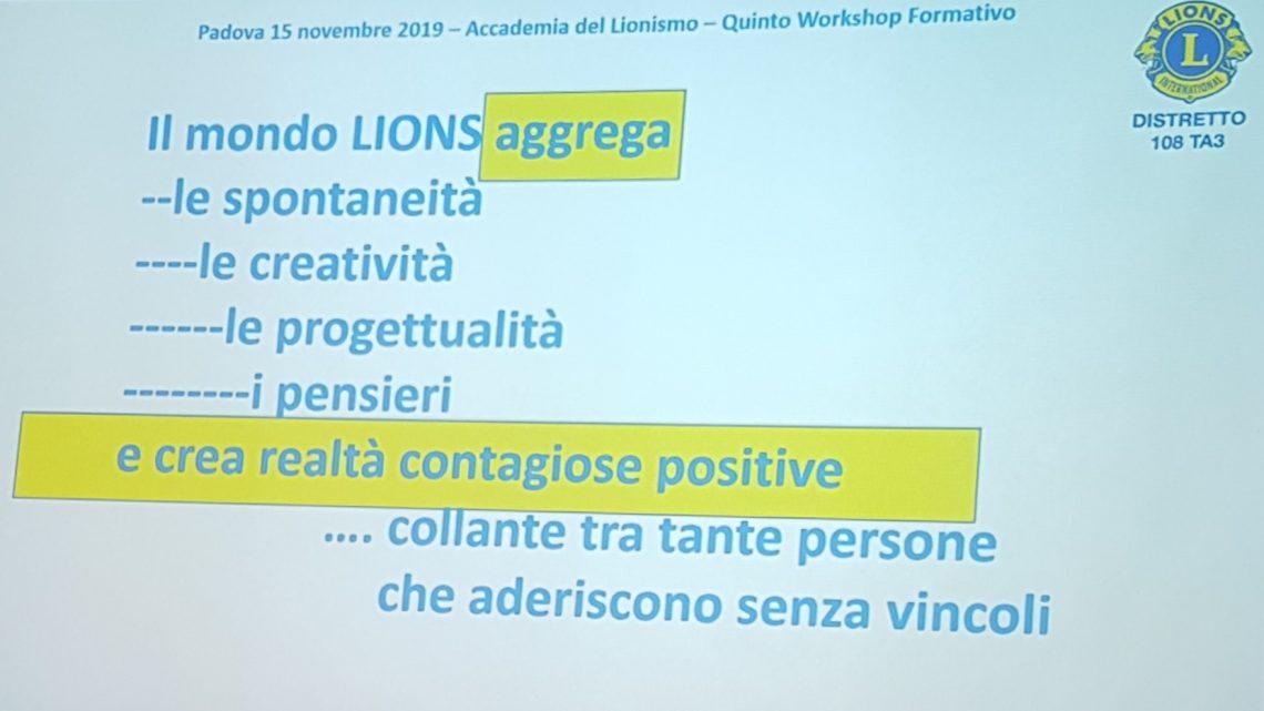 15 novembre 2019 – Serata Accademia Lionismo: …Emozioni