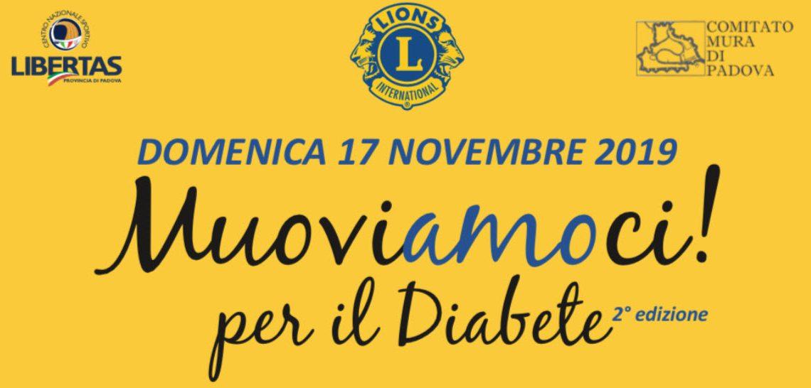 17 novembre2019 – MUOVIAMOCI PER IL DIABETE !