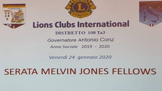 24 gennaio 2020 – SERATA MELVIN JONES FELLOWS