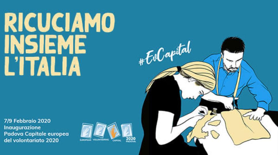 """I LIONS CON PADOVA CAPITALE DEL VOLONTARIATO 2020: """"La Comunità che verrà"""""""