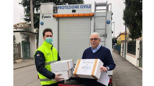 FORNITURE DI MASCHERINE, CAMICI E TUTE DI PROTEZIONE