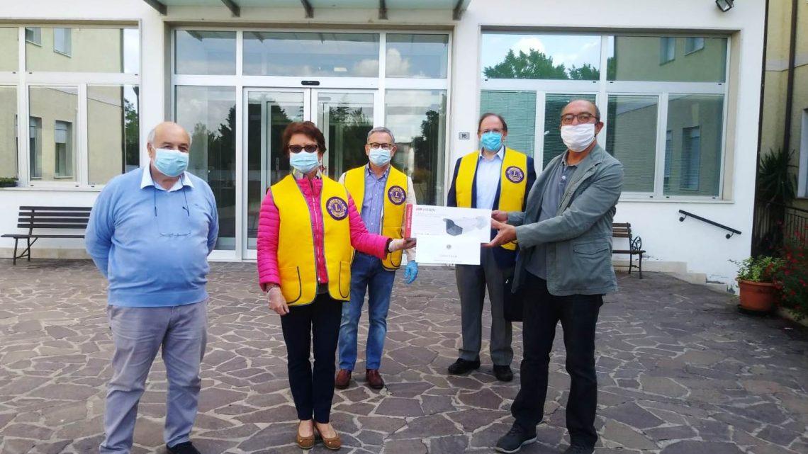 Il  Lions Club Montagnana Este Host impegnato contro il Coronavirus