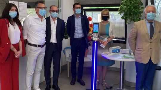 14 luglio 2020 – LC Padova Host – Donazione termo-scanner