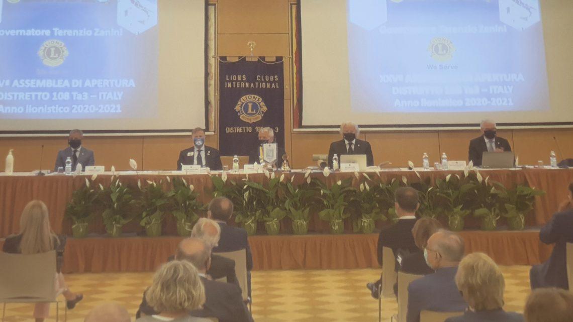 27 settembre 2020 – Hotel Crown Plaza, Padova XXV Assemblea di Apertura del Distretto Lions 108Ta3 Italy