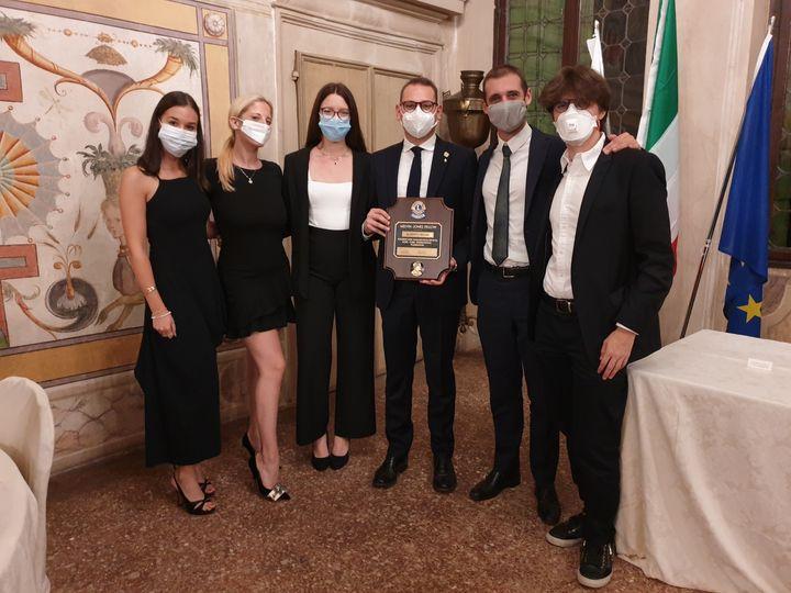2 ottobre 2020 – IL LIONS CLUB ROVIGO APRE L'ANNO SOCIALE 2020-2021