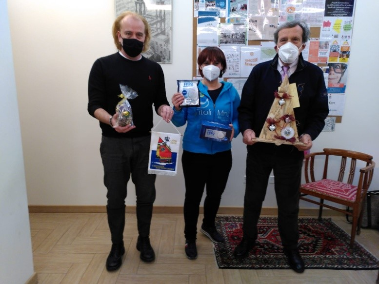 LC Chioggia Sottomarina – Ulteriore dono di mascherine
