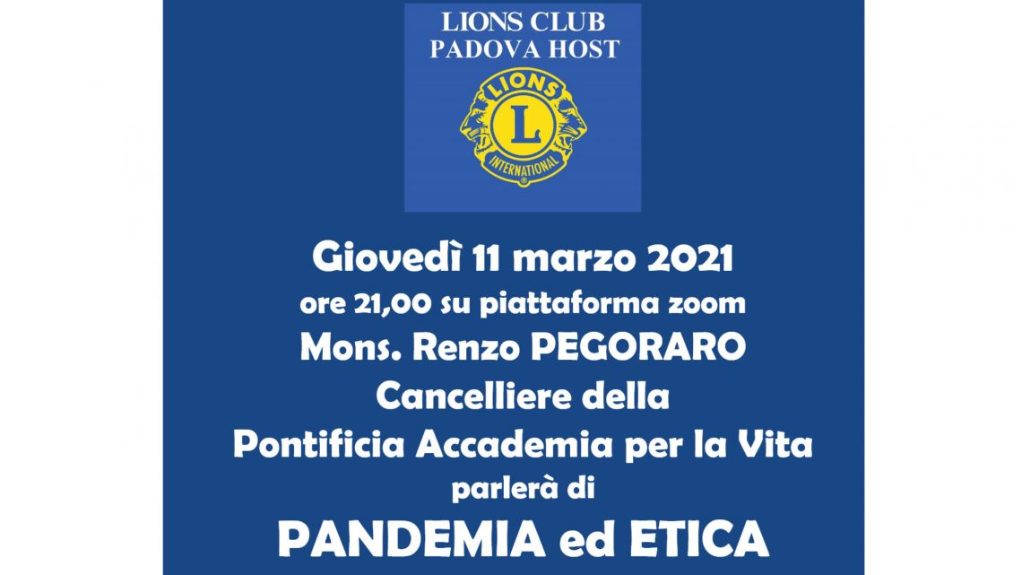 LC Padova Host – 11 marzo 2021